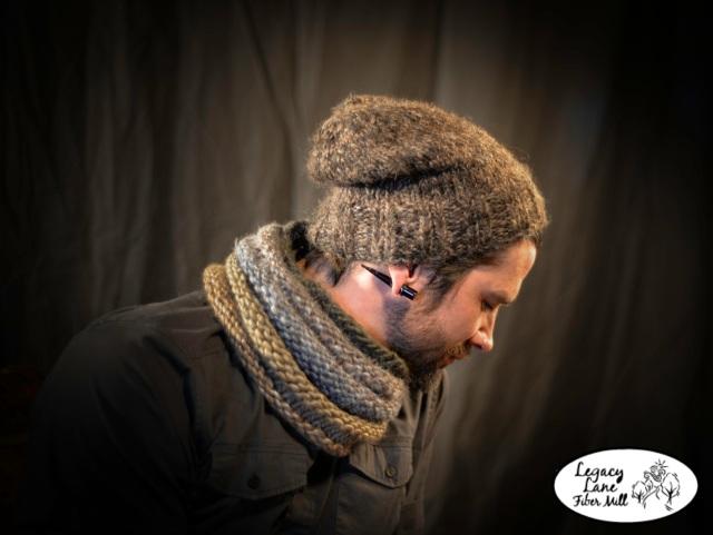 Glen e&b cowl & hat***