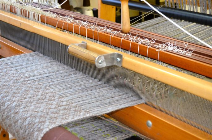 Alyson's weaving