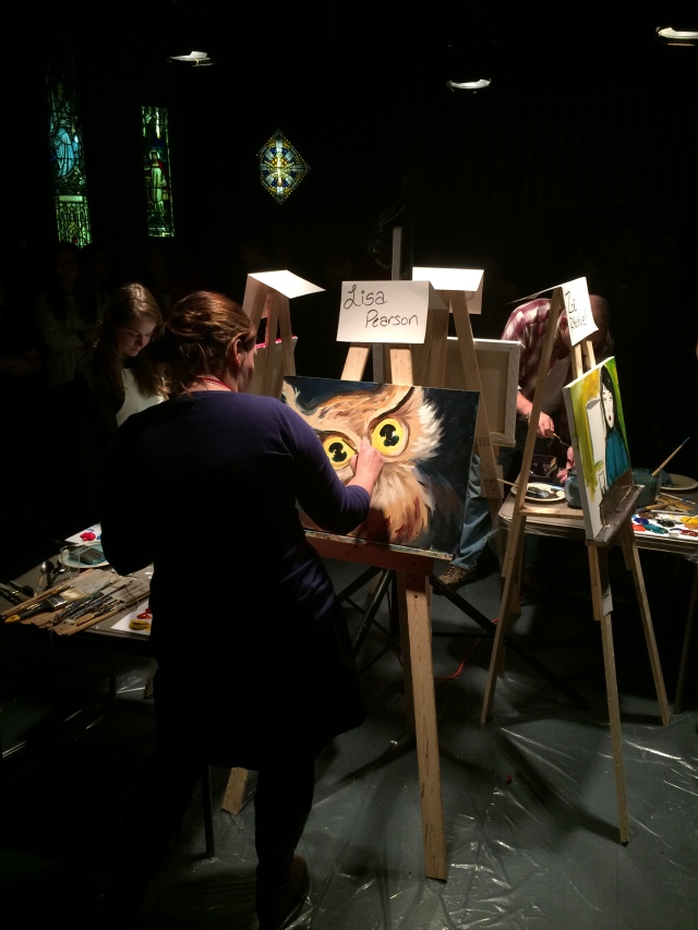 Art Battle Lisa