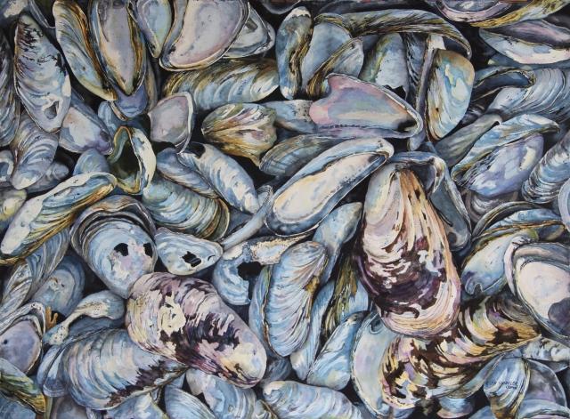 Maritime Blues by Helen Shideler